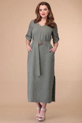 Платье Danaida 1899 хаки