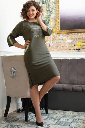Платье Avanti Erika 748-1 болотный