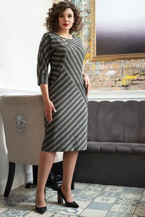 Платье Avanti Erika 886-10 серо-бежевый