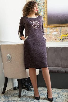 Платье Avanti Erika 944-10 ежевика