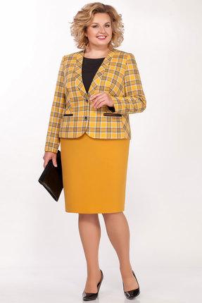 Комплект юбочный БагираАнТа 644 желтые тона