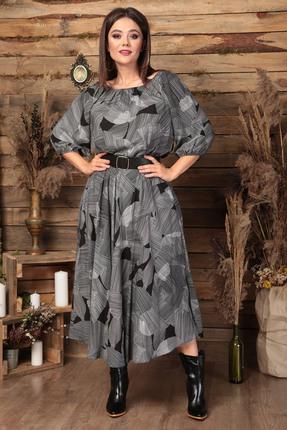 Платье Anastasia 474 серый