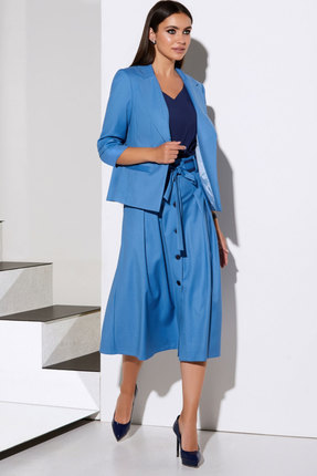 Комплект юбочный Lissana 4058 голубой
