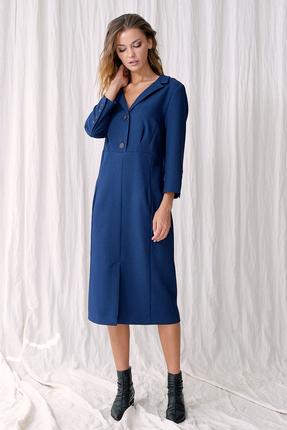 Платье Фантазия Мод 3494 синий