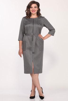 Платье Lady Style Classic 1175/2 серые тона фото