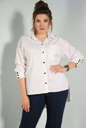 Рубашка JeRusi 2075а молочный