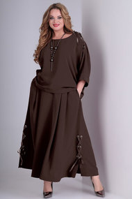 Комплект юбочный Angelina & Co 332 шоколад