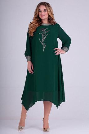 Платье Ксения Стиль 1795 зеленые тона