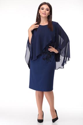Платье Anastasia Mak 674 синий