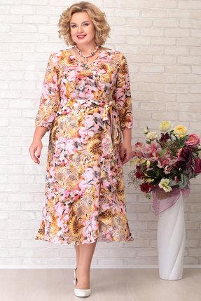 Платье Aira Style 757 разноцвет