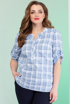Рубашка Angelina & Co 381 голубой