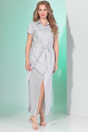 Платье Angelina & Co 355 серый