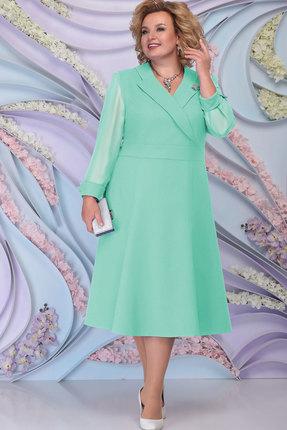 Платье Ninele 2264 светло-зелёный