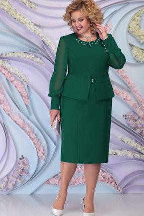Платье Ninele 2265 изумруд