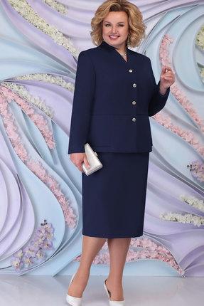 Комплект юбочный Ninele 2266 тёмно-синий фото