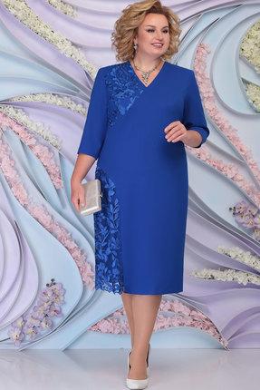 Платье Ninele 2267 василёк