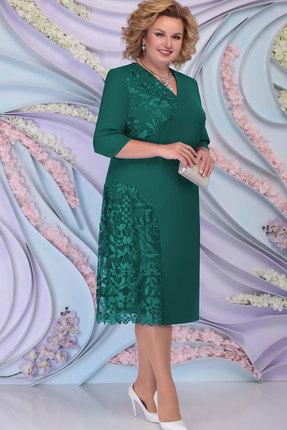 Платье Ninele 2267 изумруд