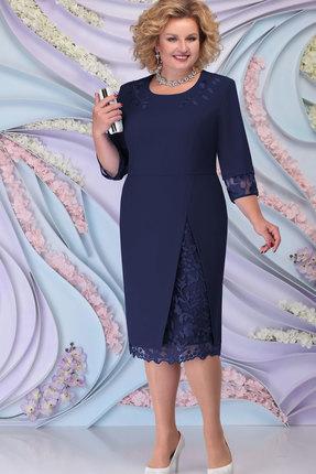 Платье Ninele 2361 тёмно-синий