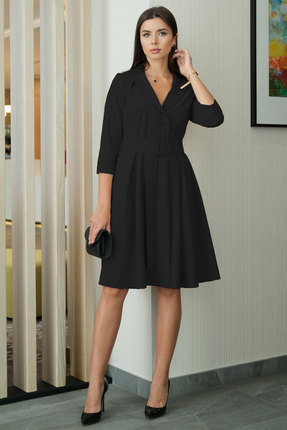 Платье Ladis Line 1264 чёрный