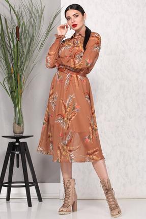Платье B&F 1886 оранжевые тона
