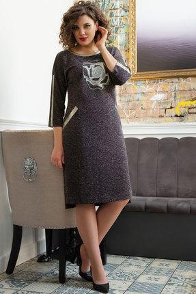 Платье Avanti Erika 944-9 темно-фиолетовый