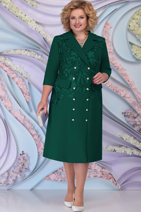 Платье Ninele 5797 изумруд