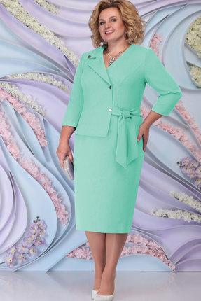Платье Ninele 5798 светло-зелёный