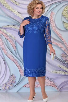 Платье Ninele 7297 василёк
