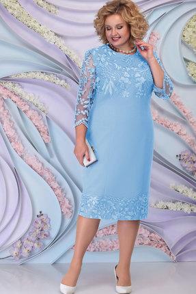 Платье Ninele 7297 голубой