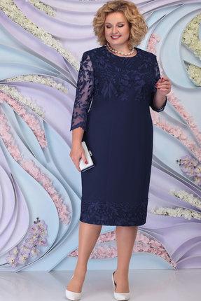 Платье Ninele 7297 тёмно-синий