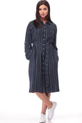 Платье Bonna Image 521 тёмно-синий
