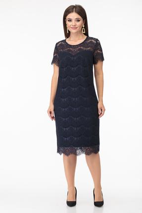 Платье Anastasia Mak 735 синий