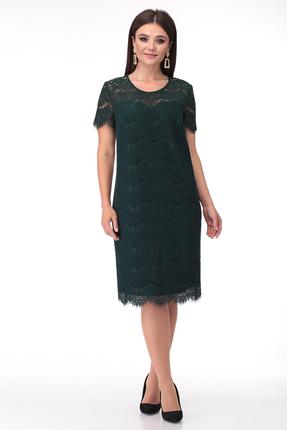 Платье Anastasia Mak 735 зеленые тона