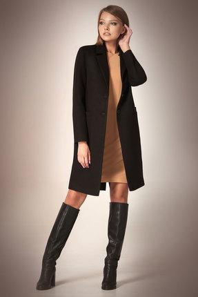 Пальто Andrea Fashion AF-56 черный