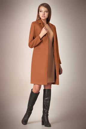 Пальто Andrea Fashion AF-56 карамел