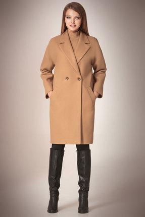 Пальто Andrea Fashion AF-57 беж
