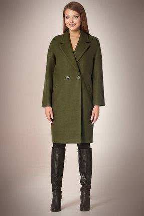 Пальто Andrea Fashion AF-57 хаки