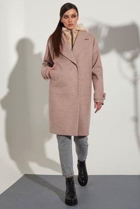 Пальто Golden Valley 7109 розовый