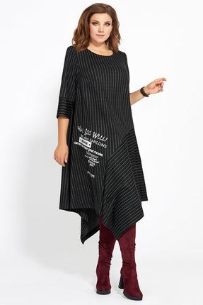 Платье Мублиз 445 черный