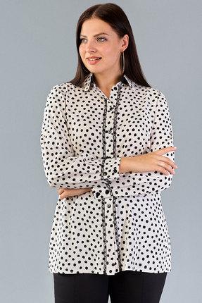 Блузка Emilia 4614 горохи