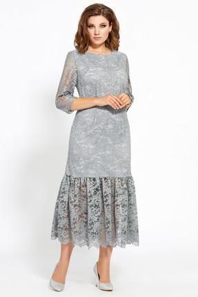 Платье Мублиз 466 серый