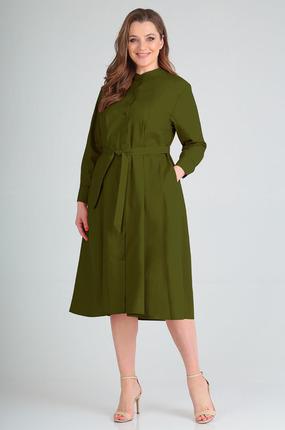 Платье Таир-Гранд 6546 хаки