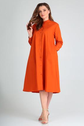 Платье Таир-Гранд 6546 терракот