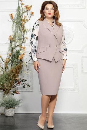Комплект юбочный Mira Fashion 4822-2 бледно-сиреневый
