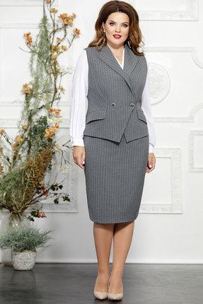 Комплект юбочный Mira Fashion 4822 светло-серый