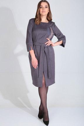 Платье MALI 420-099 серо-фиолетовый
