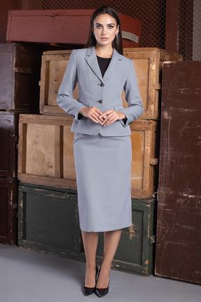 Комплект юбочный ЮРС 20-399-1 сине-белый