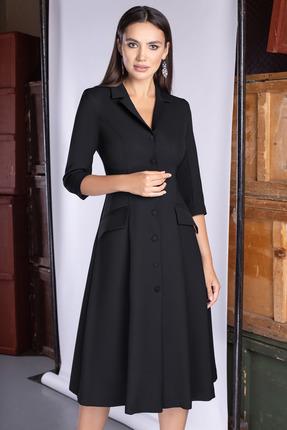 Платье ЮРС 20-418-2 черный