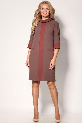 Платье Angelina & Co 403 шоколад