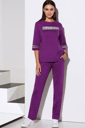 Комплект брючный Lissana 4095 фиолетовый